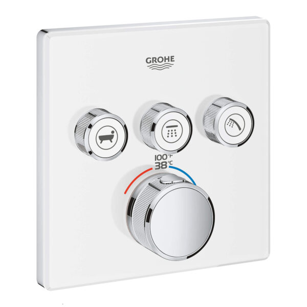 Grohe 29165LS0 - Triple Function Thermostatic Valve Trim