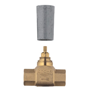 Grohe 29274000 – 3/4″ Volume Control Rough-In Valve