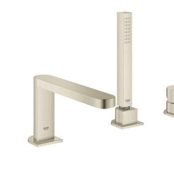 Grohe 29307EN3 – 4-Hole Single-Handle Deck Mount Roman Tub Faucet with Hand Shower