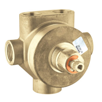 Grohe 29714000 – 3-Way Diverter Rough-In Valve (Shared Functions)