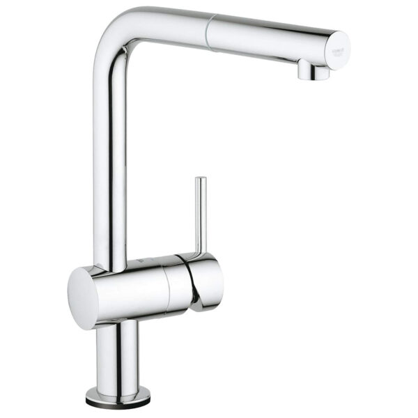 Grohe 30218001 - Single-Handle Pull-Out Kitchen Faucet Single Spray with Touch Technology