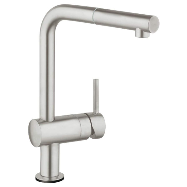 Grohe 30218DC1 - Single-Handle Pull-Out Kitchen Faucet Single Spray with Touch Technology