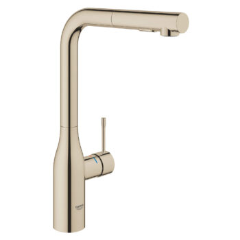 Grohe 30271BE0 – Single-Handle Pull-Out Kitchen Faucet Dual Spray 6.6 L/min (1.75 gpm)