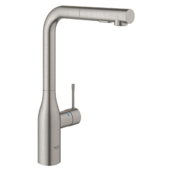 Grohe 30271DC0 – Single-Handle Pull-Out Kitchen Faucet Dual Spray 6.6 L/min (1.75 gpm)