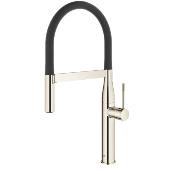 Grohe 30295BE0 – Single-Handle Semi-Pro Dual Spray Kitchen Faucet 6.6 L/min (1.75 gpm)