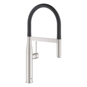 Grohe 30295DC0 – Single-Handle Semi-Pro Dual Spray Kitchen Faucet 6.6 L/min (1.75 gpm)