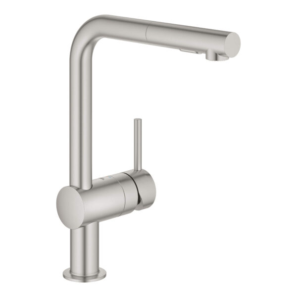 Grohe 30300DC0 - Single-Handle Pull-Out Kitchen Faucet Dual Spray 6.6 L/min (1.75 gpm)