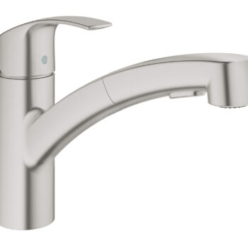 Grohe 30306DC0 – Single-Handle Pull-Out Kitchen Faucet Dual Spray 6.6 L/min (1.75 gpm)