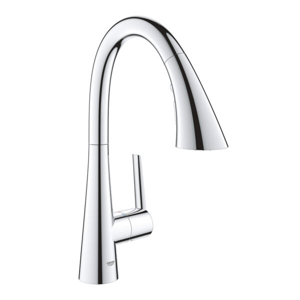 Grohe 30368002 - Single-Handle Pull Down Triple Spray Bar Faucet  6.6 L/min (1.75 gpm)