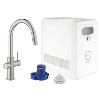 Grohe 31251DC2 – GROHE Blue® Single-Handle Pull Down Kitchen Faucet