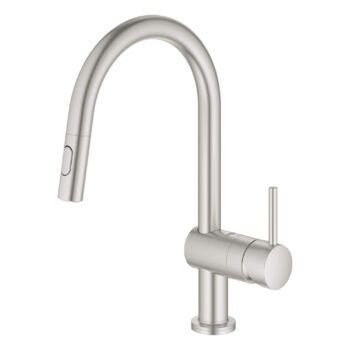 Grohe 31359DC2 – Single-Handle Pull Down Kitchen Faucet with Touch Technology
