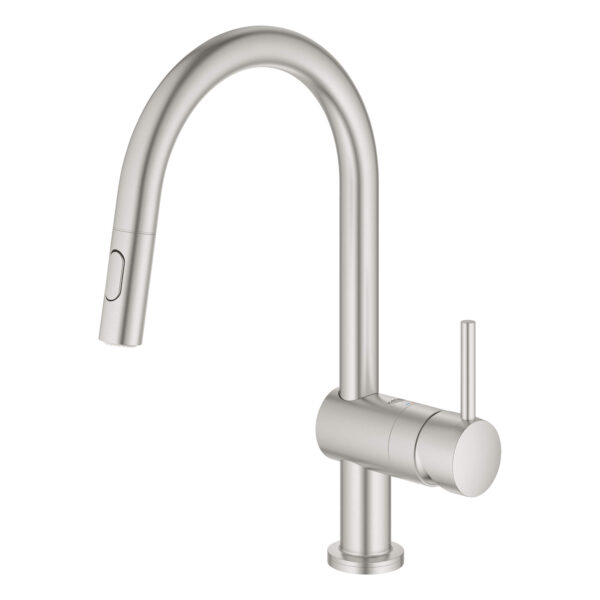 Grohe 31359DC2 - Single-Handle Pull Down Kitchen Faucet with Touch Technology
