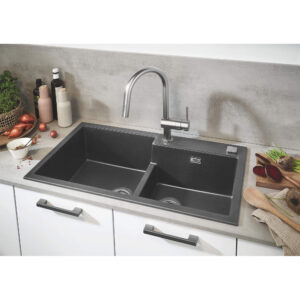 Grohe 31378DC3 - Single-Handle Pull Down Kitchen Faucet Dual Spray 6.6 L/min (1.75 gpm)