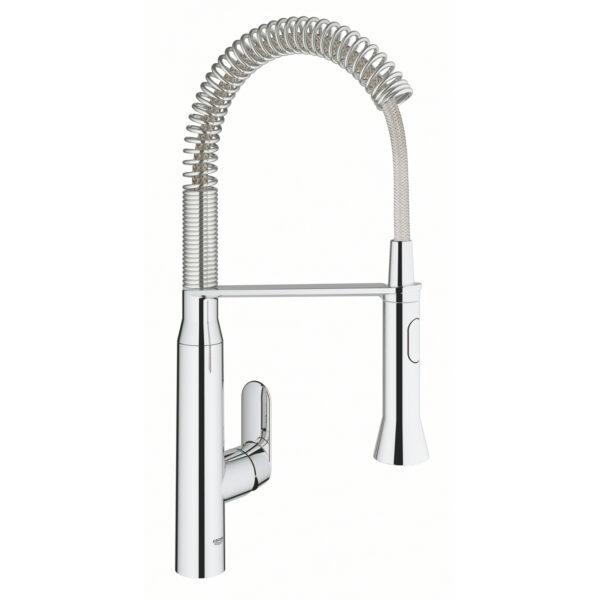 Grohe 31380000 - Single-Handle Semi-Pro Dual Spray Kitchen Faucet 6.6 L/min (1.75 gpm)