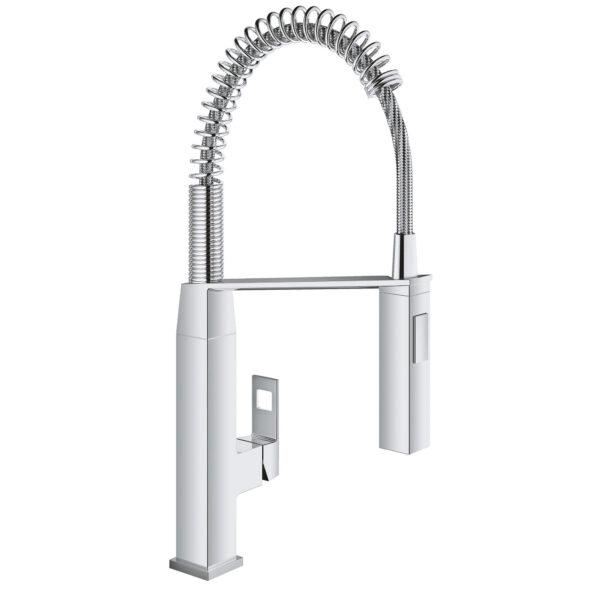 Grohe 31401000 - Single-Handle Semi-Pro Dual Spray Kitchen Faucet 6.6 L/min (1.75 gpm)
