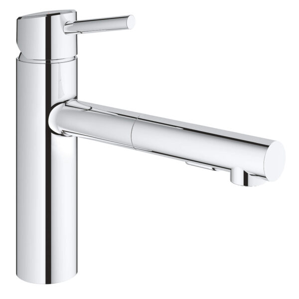 Grohe 31453001 - Single-Handle Pull-Out Kitchen Faucet Dual Spray 5.7 L/min (1.5 gpm)