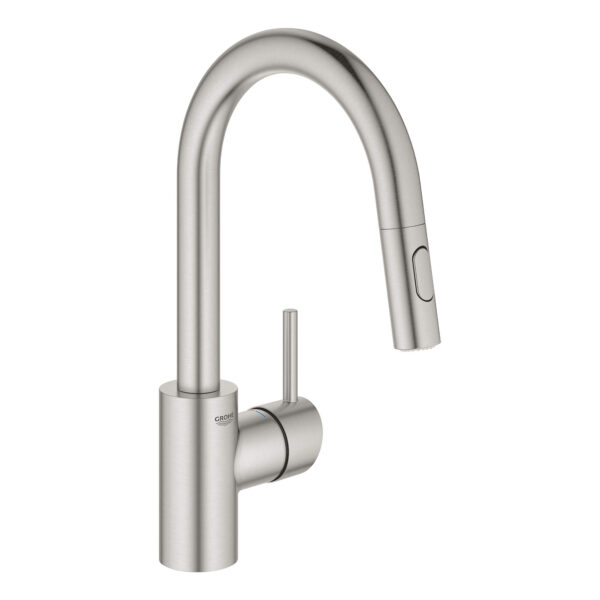 Grohe 31479DC1 - Single-Handle Pull Down Bar Faucet 6.6 L/min (1.75 gpm)