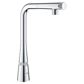 Grohe 31559002 – SmartControl Pull-Out Single Spray Kitchen Faucet 6.6 L/min (1.75 gpm)