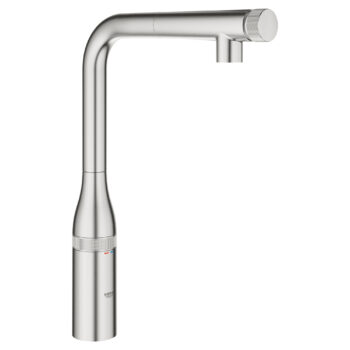 Grohe 31616DC0 – SmartControl Pull-Out Single Spray Kitchen Faucet 6.6 L/min (1.75 gpm)