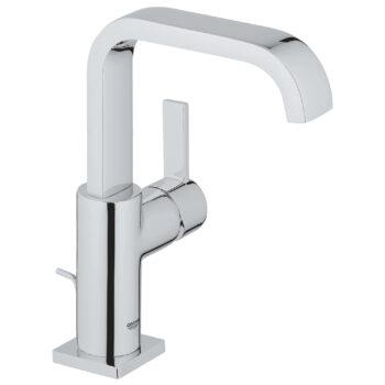 Grohe 3212800A – Single Hole Single-Handle L-Size Bathroom Faucet 4.5 L/min (1.2 gpm)