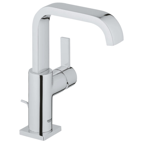 Grohe 3212800A - Single Hole Single-Handle L-Size Bathroom Faucet 4.5 L/min (1.2 gpm)
