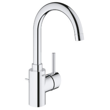Grohe 32138002 – Single Hole Single-Handle L-Size Bathroom Faucet 4.5 L/min (1.2 gpm)