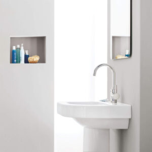 Grohe 32138002 - Single Hole Single-Handle L-Size Bathroom Faucet 4.5 L/min (1.2 gpm)
