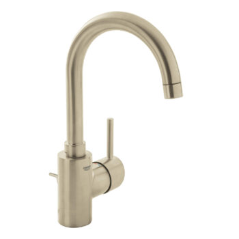Grohe 32138EN2 – Single Hole Single-Handle L-Size Bathroom Faucet 4.5 L/min (1.2 gpm)