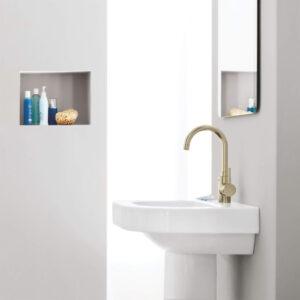 Grohe 32138EN2 - Single Hole Single-Handle L-Size Bathroom Faucet 4.5 L/min (1.2 gpm)