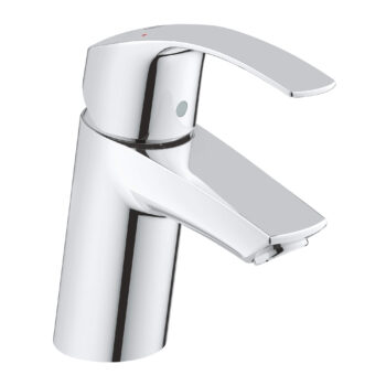 Grohe 3264300A – Single Hole Single-Handle S-Size Bathroom Faucet 4.5 L/min (1.2 gpm) Less Drain