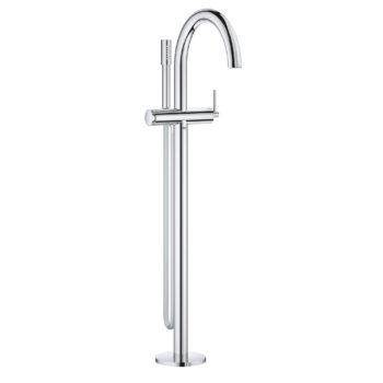 Grohe 32653003 – Single-Handle Freestanding Tub Faucet with 6.6 L/min (1.75 gpm) Hand Shower