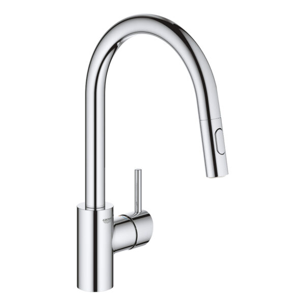 Grohe 32665003 - Single-Handle Pull Down Kitchen Faucet Dual Spray 6.6 L/min (1.75 gpm)