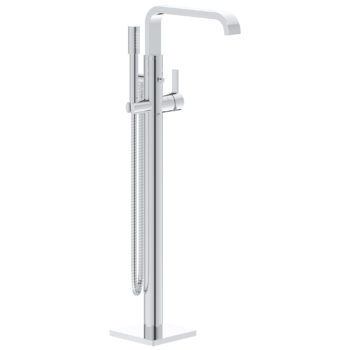 Grohe 32754002 – Single-Handle Freestanding Tub Faucet with 6.6 L/min (1.75 gpm) Hand Shower