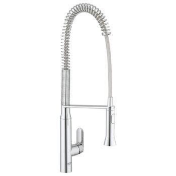 Grohe 32951000 – Single-Handle Semi-Pro Dual Spray Kitchen Faucet 6.6 L/min (1.75 gpm)