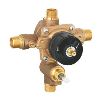 Grohe 35016000 – Pressure Balance Rough-In Valve with Built-in Diverter