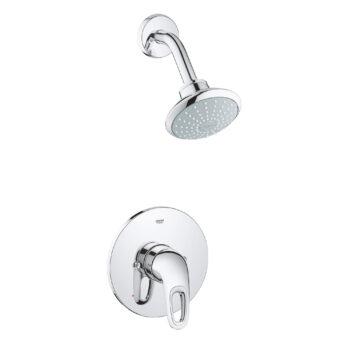 Grohe 35060003 – Pressure Balance Valve Tub/Shower Combo