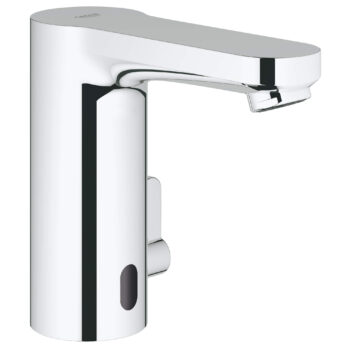 Grohe 36328000 – Cosmopolitan E Centerset Touchless Electronic Bathroom Faucet