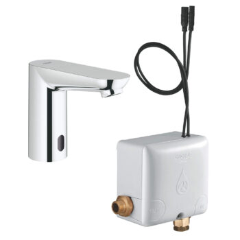 Grohe 36385000 – Electronic Touchless Bathroom Faucet With Power Box
