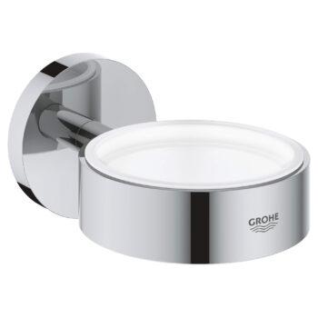 Grohe 40369001 – Holder For Glass, Soap Dish Or Soap Dispenser