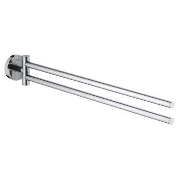 Grohe 40371001 – 18″  Double Towel Bar
