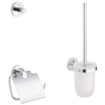 Grohe 40407001 – 3-in-1 Accessory Set