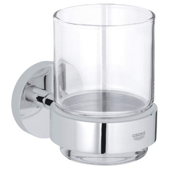 Grohe 40447001 – Glass with Holder