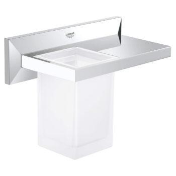 Grohe 40503000 – Bathroom Shelf with Tumbler