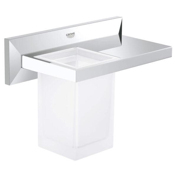 Grohe 40503000 - Bathroom Shelf with Tumbler