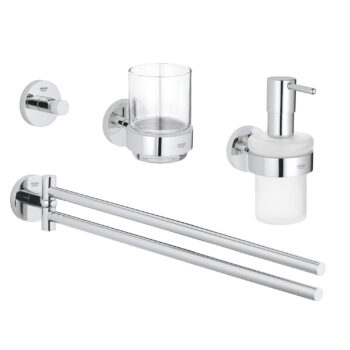 Grohe 40846001 – 4-in-1 Accessory Set