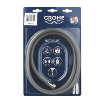 Grohe 28410001 – 69″ Twist-Free Shower Hose