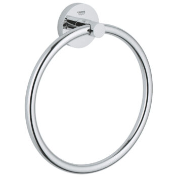 Grohe 40365001 – 8″ Towel Ring