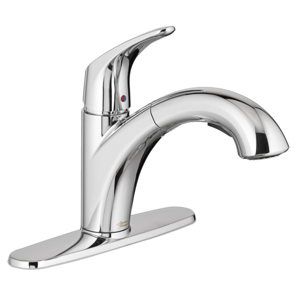 American Standard 7074100.002 - Colony PRO Single-Handle Kitchen Faucet with Pull-Out Spray