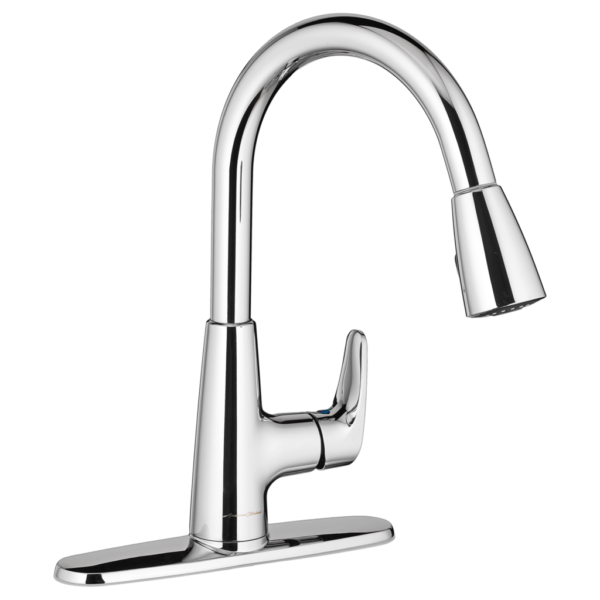 American Standard 7074300.002 - Colony PRO Single-Handle Kitchen Faucet with Pull-Down Spray