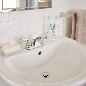 American Standard 7075200.002 - Colony PRO Two-Handle Centerset Bathroom Faucet
